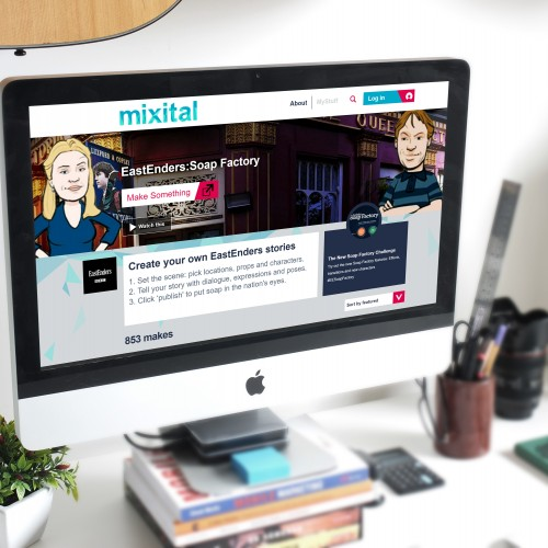 Mixital's EastEnders Story Maker kit