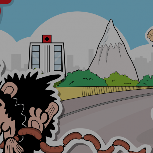 beano - ganshers deadly dash header